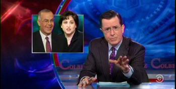 Colbert Mocks Brooks And Marcus For 'Confused' Columns On Legalizing Pot