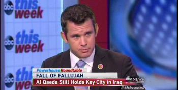 Rep. Adam Kinzinger Pushes For Air Strikes In Fallujah