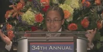 5th Grader's Stirring 'Jesus Wept' Speech At MLK Event: I'm 'Scared To Wear My Hoodie!'