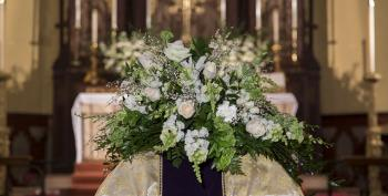 Priest Refuses Communion To Lesbian Couple At Own Mother's Funeral Service