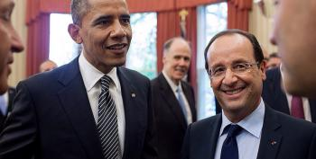 US, French Presidents Call For 'Ambitious' Climate Change Deal