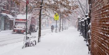 Snowstorm Brings Drudgery And Tragedy To US East