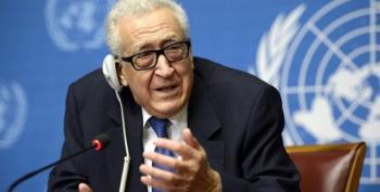 UN 'Very Sorry' As Syria Talks Break Off In Failure
