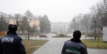Pro-Russia Armed Men Seize Crimea Parliament, Govt HQ