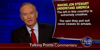 O'Reilly: Stewart 'Living In Fantasy Land' For Calling Out Fox Scandal Mongering