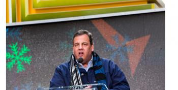 Gov. Chris Christie Booed At Times Square Super Bowl Hand-Off Ceremony