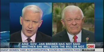 Anderson Cooper Takes Apart Arizona Pol For Defending Anti-Gay Bill