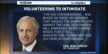 Bob Corker Wants A Race To The Bottom For Tennessee Workers