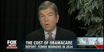 Sen. Roy Blunt Suggests Obamacare Is Making People Lazy