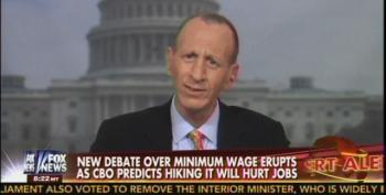 Fox Pundit Asks If America Should Eliminate Minimum Wage Because Switzerland Doesn't Have One