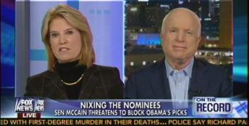 McCain Rips Obama For 'Clueless'  And 'Ignorant' Nominees