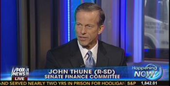 Sen. John Thune Still Pushing Zombie Lie On Obamacare And Job Loss