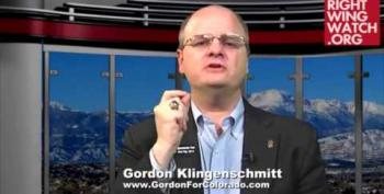 'Pray In Jesus Name' Gordon Klingenschmitt Running For Office To Oppose Democratic Theocracy