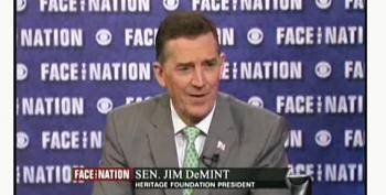 Founding Trustee Of Heritage Foundation Bashes Jim DeMint For 'Trivializing' And 'Politicizing' The Group