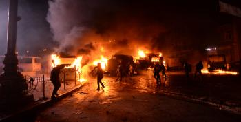 Police, Protesters Wage 'War' In Deadly Kiev Clashes