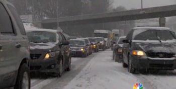 Winter Storm Pax Brings Snowpocalypse 2014 To North Carolina