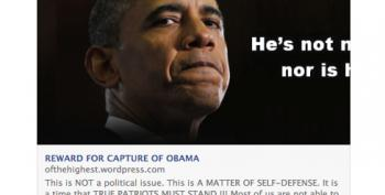 Militia Group Collecting Reward Money On Facebook For Capture Of Obama