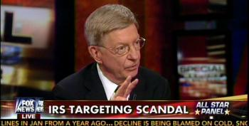 George Will Tries To Impress His New Bosses: Fake IRS 'Scandal' Equivalent To Watergate, Iran-Contra