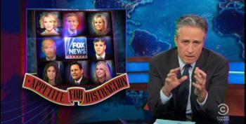 Jon Stewart Rips 'Spite-Driven Anger Machine' Fox For Endless Scandal Mongering