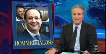Jon Stewart Skewers Media Coverage Of French President's Visit