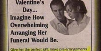 Open Thread - Worst Valentine's Ad Ever?