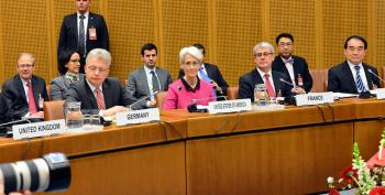 Powers Seek To Forget Crimea For Iran Nuclear Talks