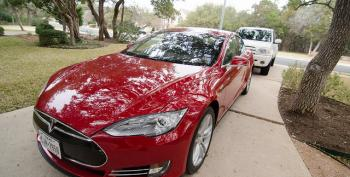 Test Driving A Tesla Model S With A Tea Party Pundit: Part One