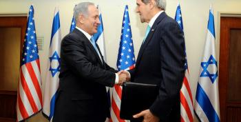 Palestinians In Talks Ultimatum As Kerry Meets Netanyahu