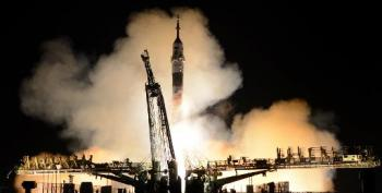 Rocket With US-Russian Crew Misses ISS Rendezvous