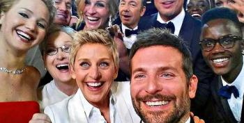 Amazing: Artist's Re-creation Of Oscar Selfie