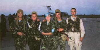 Ukrainians Resort To Crowdfunding Army