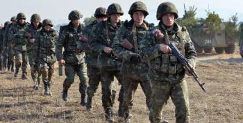 Ukraine Youth Mobilise Against 'Russian Aggressors' In Crimea