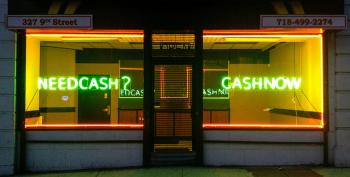 Payday Lenders: Robbing Someone Near You