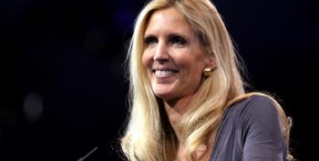 "Conservative Heroine Ann Coulter: ""Tell Poor People, 'Keep Your Knees Together Before You're Married' (Video)"