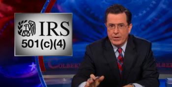 Read Stephen Colbert's ACTUAL Letter To The IRS Requesting To Testify On Campaign Finance
