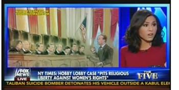 Fox News' Tantaros: Funding Contraception Is 'Subsidizing' Women's Sex Lives