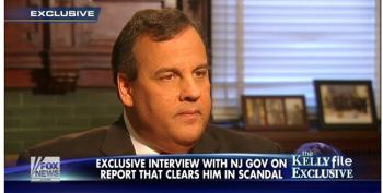 Chris Christie Tells Megyn Kelly He Feels Exonerated By His Own Self-Serving Investigation