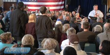 Chris Christie Prepared For Protesters, Hecklers At Town Hall In South River