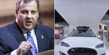 Chris Christie Cuts Backroom Deal To Keep Tesla Out Of New Jersey