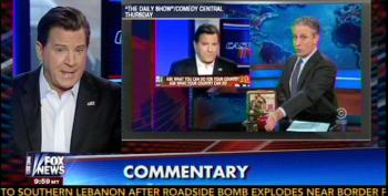 Eric Bolling Pretends He Didn't Have His Ass Handed To Him By Jon Stewart
