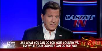 Fox's Eric Bolling Not Happy With Jon Stewart Mocking Their Attacks On Food Stamp Recipients