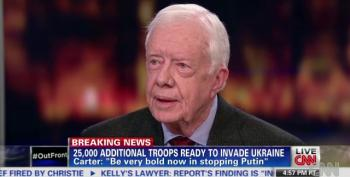 Jimmy Carter: I Don't Pay Any Attention To Criminal Oliver North