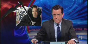 Colbert And Patrick Stewart Needle AFP's Fake Obamacare Victim Ads