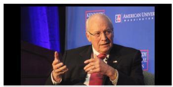 Dick Cheney Stands By His 'Torture Are Us' Policies To Support Waterboarding