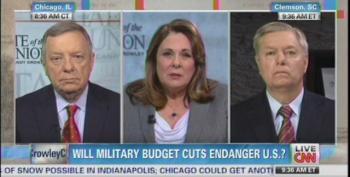Lindsey Graham Complains That Obama's Budget 'Guts Our Defense'