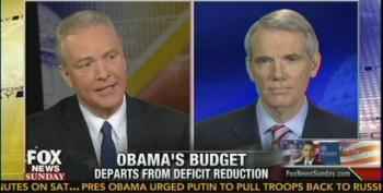 Chris Van Hollen Allows Former Bush OMB Director To Fearmonger Over Debt And Deficit