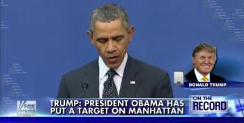 Donald Trump Blames Obama For Making Manhattan A Terrorist Target