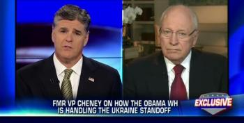 Cheney Attacks Obama For Not 'Backing Up His Bold Rhetoric' On Ukraine