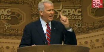 Oliver North At CPAC:  Fight Against Gay Marriage Like Slavery