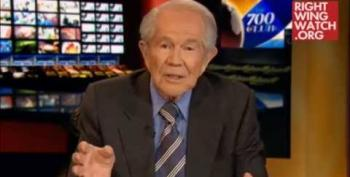 Pat Robertson Longs For The Days When Gays Were Stoned To Death